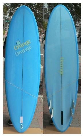 Bonzer Fins Surfboard
