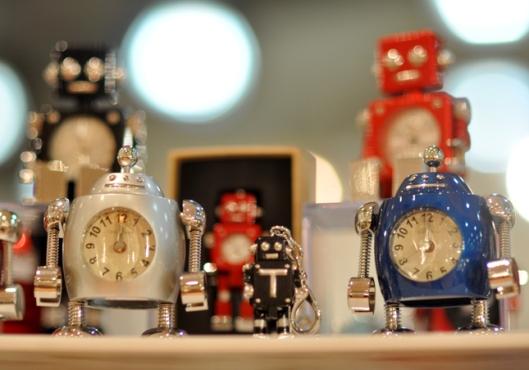 TOKYObay Tokibot clocks