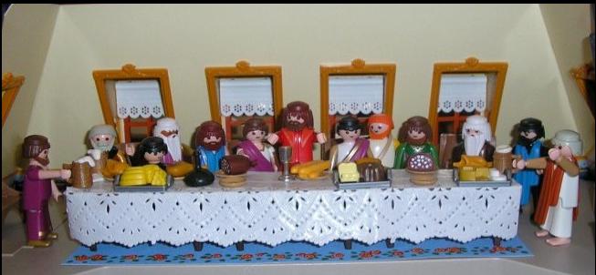 Playmobil en el Museo de Reproducciones