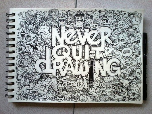 Never Quit Drawing